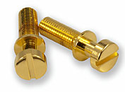 STOP TAILPIECE STUDS / BRASS / Gold