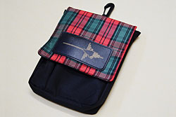 NAZCA POUCH チェック柄