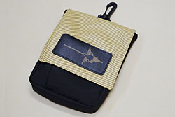 NAZCA POUCH ツイード柄